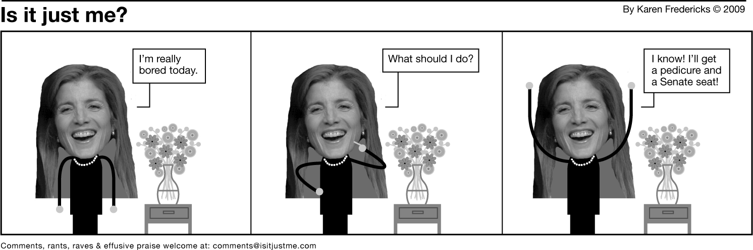 caroline kennedy no way!
