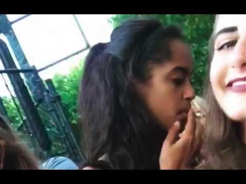 Malia_Smokes_A_Joint