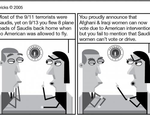 Howdy Saudi. Naughty Saudi. Obama Said No. Aught He?