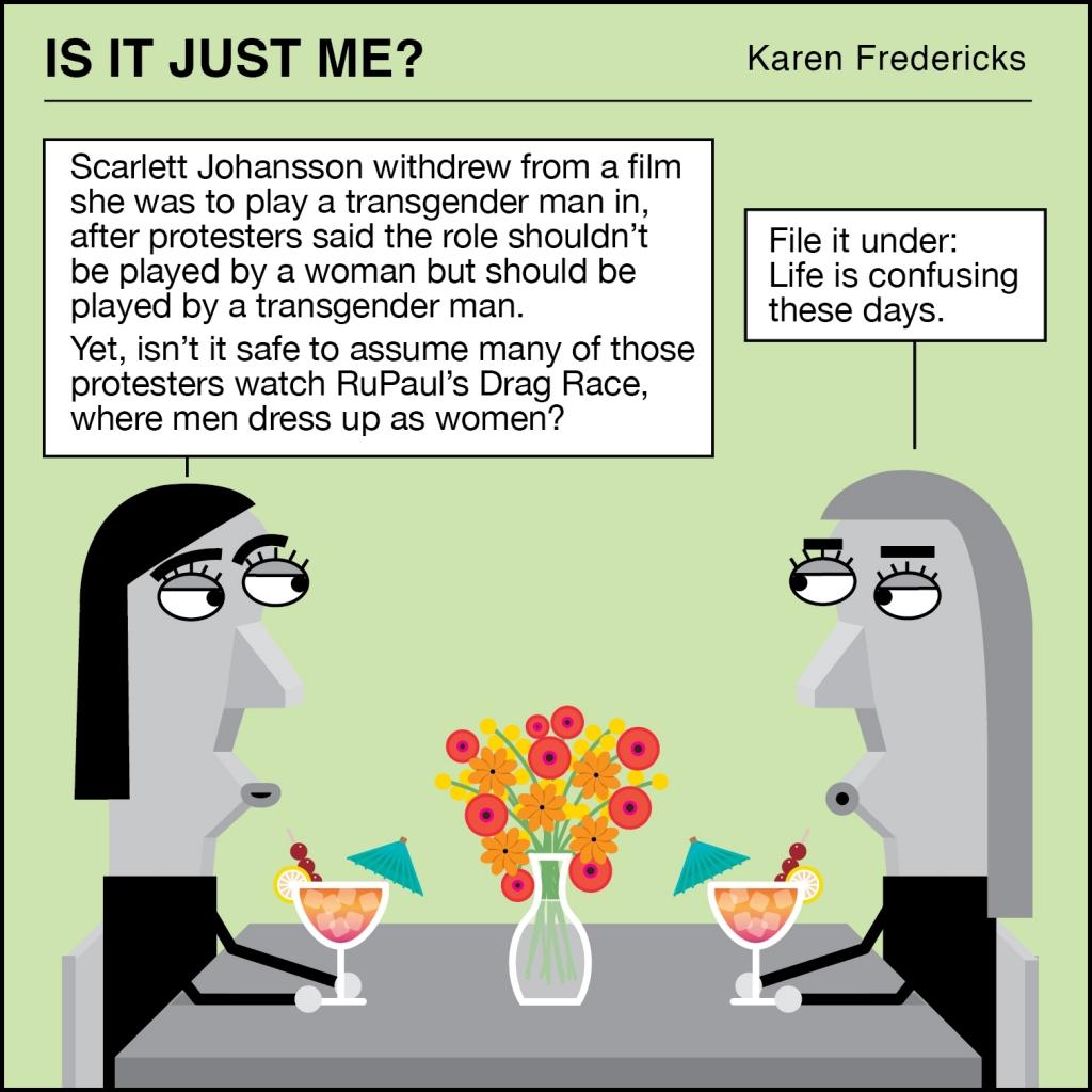 Scarlett Johannsen Transgender Mind Bender